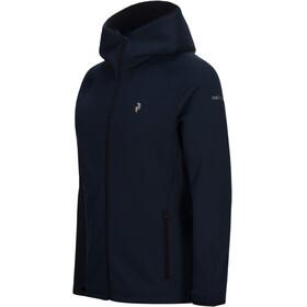 Peak Performance M's Chill Zip Hood Blue Shadow
